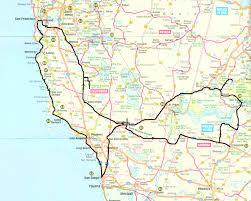 map of usa west coast usa west coast road trip route all world maps