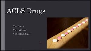 acls drug review youtube