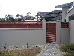 Modern Fence Hipages Com Au Is A Renovation Resource And Online Community With