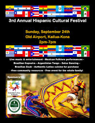 hispanic cultural festival scheduled for sept 24 big island now