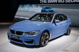 Bmw M3 Sedan - new bmw m3 sedan and m4 coupe live from detroit