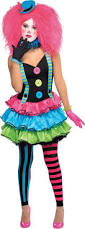 Ladies Clown Halloween Costumes 43 Fun Color Costumes Images Spirit