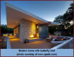 the butterfly roof a unique design quarve contracting inc