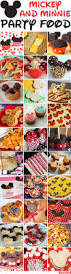 Minnie Mouse Halloween Birthday Party by 30 Awesome Mickey Mouse And Minnie Mouse Party Food Ideas Chickabug