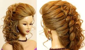 pics of bridal hairstyle bridal hairstyle for long hair tutorial with braid youtube