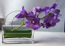 orchid arrangement purple orchid fancy flowers minneapolis