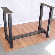 heavy duty table legs industrial steel i beam bar base kitchen island heavy metal