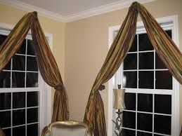 How To Hang A Valance Scarf by Window Scarf Valance Various Window Scarf Ideas U2013 Home Decor