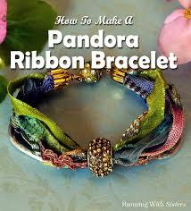 diy bracelet pandora beads images Pandora ribbon bracelet running with sisters jpg