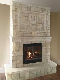 cast fireplace mantels integrate with veneer stone cornerstone