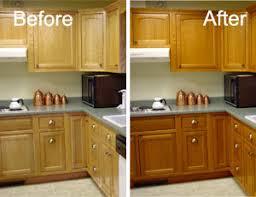 Appleton WI Cabinet Refinishing - Kitchen cabinets color change