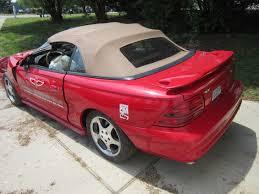 lexus convertible repair 1994 ford mustang cobra convertible indy pace car for repair or