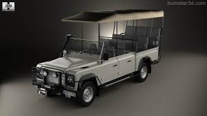 land rover safari 360 view of land rover defender safari game viewing 1990 3d model