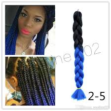 ombre human braiding hair hot two tone expression ombre braiding hair twists high