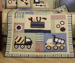 Truck Crib Bedding Truck Crib Bedding White Bed