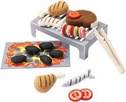 cuisine haba amazon com haba biofino grill set sizzle expert toys