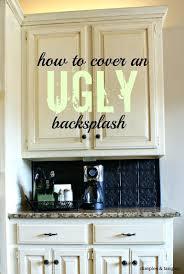 faux tin kitchen backsplash ceiling tile backsplash how to install tin ceiling tiles the home