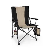Canvas Folding Chairs by Picnic Time U0027big Bear Xxl U0027 Camp Chair Black Big Bear Xxl