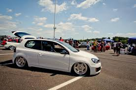 white volkswagen golf white volkswagen golf mk6 on silver rims vw golf tuning