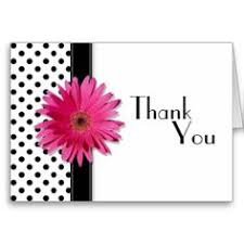 white customisable thank you card on white weddings
