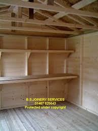 Making Wooden Shelves For Storage by 25 Best Shed Shelving Ideas On Pinterest Tool Shed Organizing