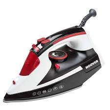 hoover tim2500ca ironjet 2500 watts steam ceramic iron in black