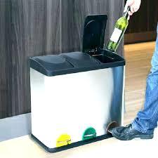 poubelle de tri selectif cuisine poubelle tri selectif 2 bacs 50 l poubelle de cuisine tri