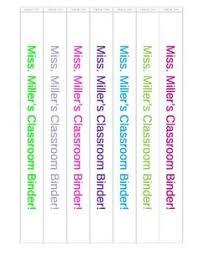 1000 ideas about binder spine labels on pinterest binder labels