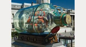 ship in a nelson s ship in a bottle by yinka shonibare mbe fund