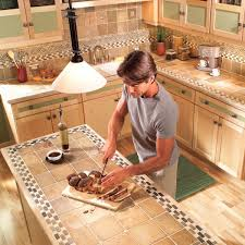 new countertop options pros and cons the family handyman ceramic tile new countertop pros