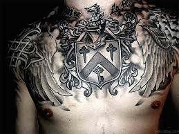 55 great armor tattoos for chest