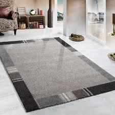 Teppich Schlafzimmer Beige Webteppich Beige Braun Bordüre Design Teppiche