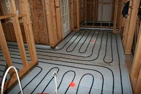 how to install radiant floor heating under tile luxury radiant
