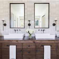 Modern Wood Bathroom Vanity Best 25 Reclaimed Wood Bathroom Vanity Ideas On Pinterest