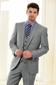 mens light gray 3 piece suit custom made light gray groom tuxedos 3 piece mens wedding party