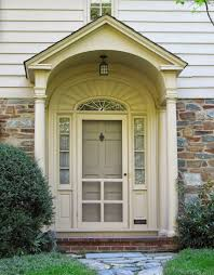 Front Door Colors For Brick House by Tone On Tone Storm Doors Ideas And Inspirations