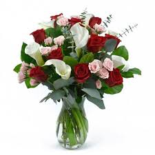 Roses And Lilies Rose U0026 Calla Lily Bouquet Choose Your Color Sam U0027s Club