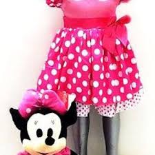 shop minnie mouse birthday dress on wanelo