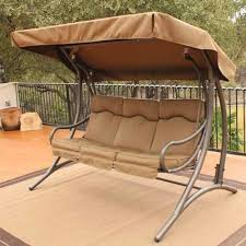 Swing Bed With Canopy 9 Cool And Cozy Patio Swing With Canopy Designs Canopykingpin Com