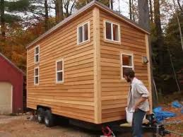 sherwood tiny house on a trailer this modern 160 square foot home