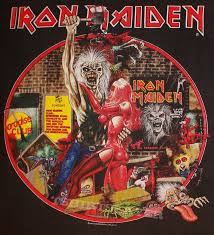 Iron Maiden Flag Iron Maiden Bring Your Daughter To The Slaughter Tour 1990