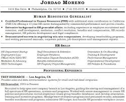 Sample Resumes For Hr Professionals Sample Resume Hr Generalist 100 Resume Hr Generalist Sample Human