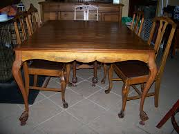 vintage wooden dining room chairs