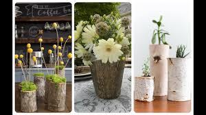 Decorative Vases 23 Wonderful Decorative Vases Made From Tree Stump Youtube