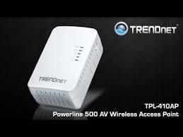 tpl 410ap trendnet tpl 410ap powerline 500 av2 wireless access point white