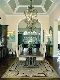 Traditional Dining Room Set Traditional Dining Room With Hardwood Floors U0026 Cathedral Ceiling