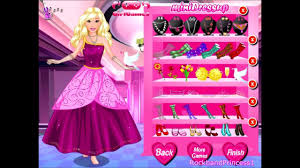 barbie games barbie dress up games barbie makeover dress up