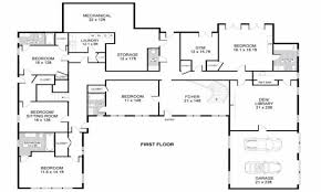 5 bedroom house plans with bonus room baby nursery house plans single story one story floor plans