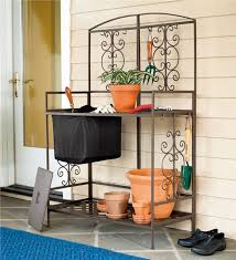 potting tables for sale gardening potting bench with regard to metal prepare 10