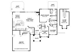 Houseplan Ranch House Plans Lindgren 11 122 Associated Designs